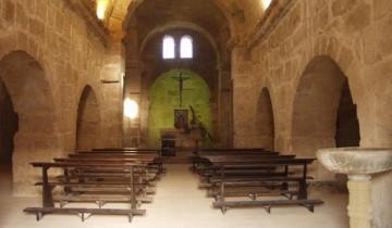 Chiesa San Giovanni di Sinis: navata centrale